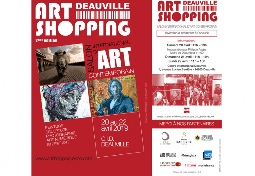 Art Shopping Deauville Salon d'Art Contemporain